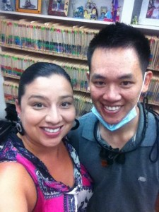 Dr. William Chung and Office Manager Cindy Abascal